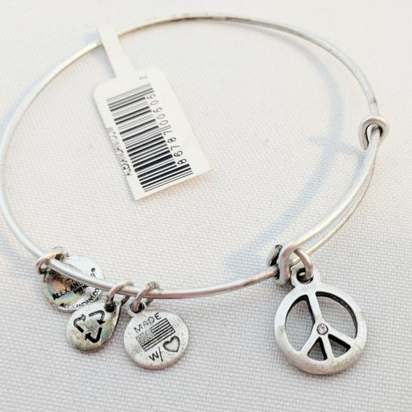152582571 Alex and Ani Jewelry | Alex Ani World Peace Swarovski Crystal ...